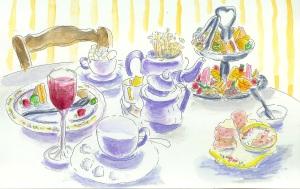 E:tea table