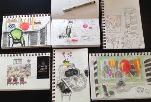 CA sketches